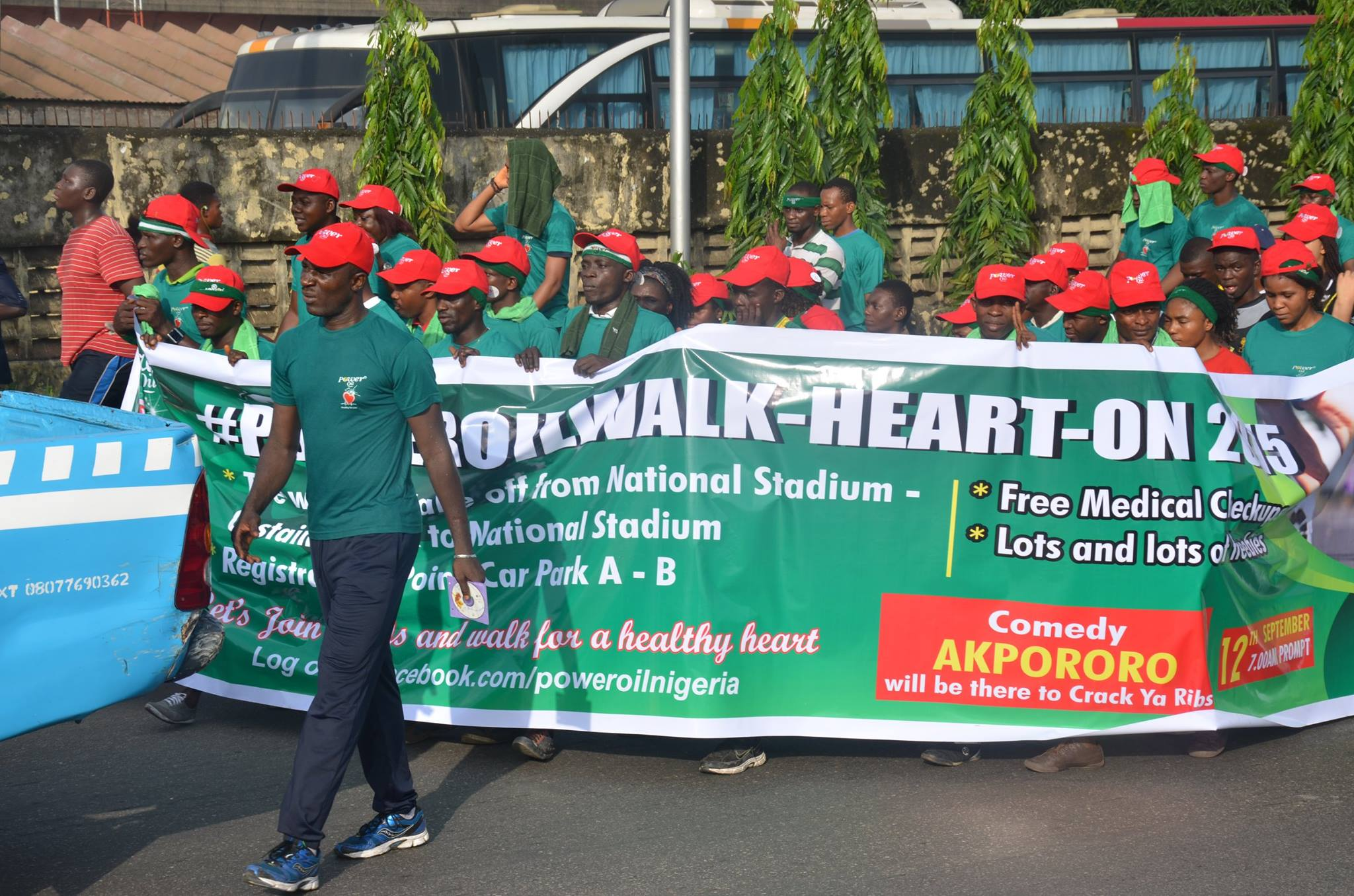 Power Oil Walkhearton 4.0 To Engage Consumers In Lagos, Ibadan, Benin, Enugu & Port Harcourt