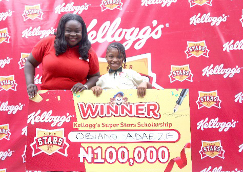 Kellogg's Invests Millions Towards Youngsters Academics In Nigeria