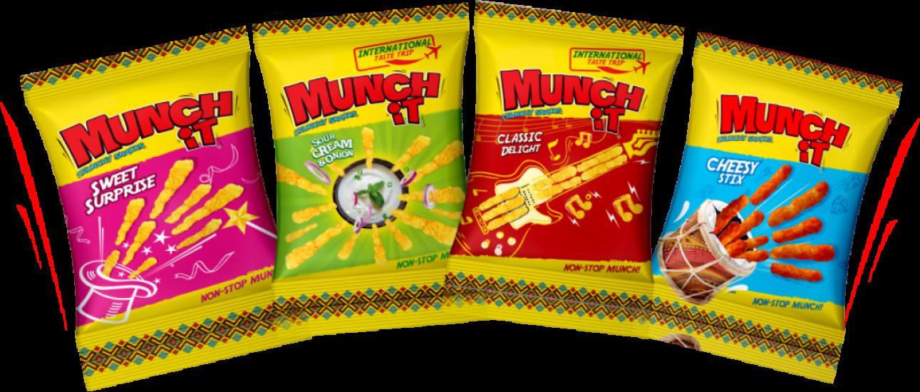 Munch iT – Flavors