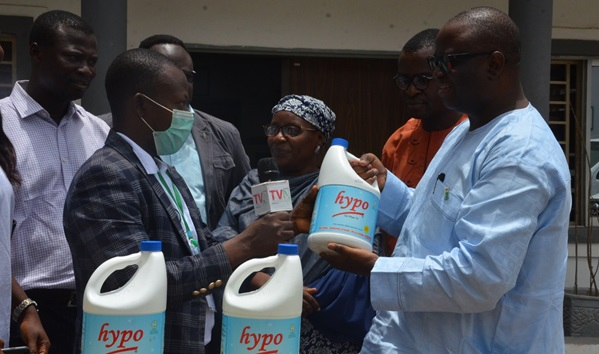 HYPO DONATES PRODUCTS TO NCDC TO FIGHT COVID-19.