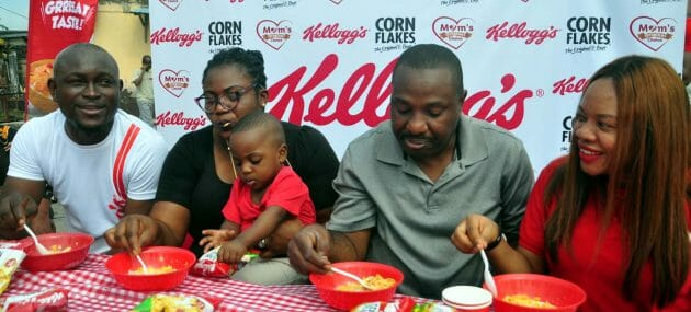 Kellogg's Gathers Over 1000 Families Together For The Big Family Breakfast Treat In Lagos