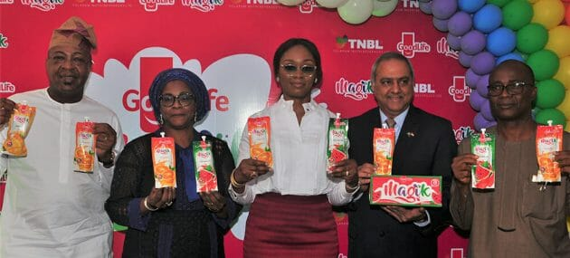 """Tolaram Group Enters The Nigerian Beverage Market With The Launch Of """"Goodlife Magik Fruit Drink""""."""