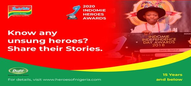 2020 Heroes Awards: Indomie's Nationwide Search for Extraordinary Children Heats Up