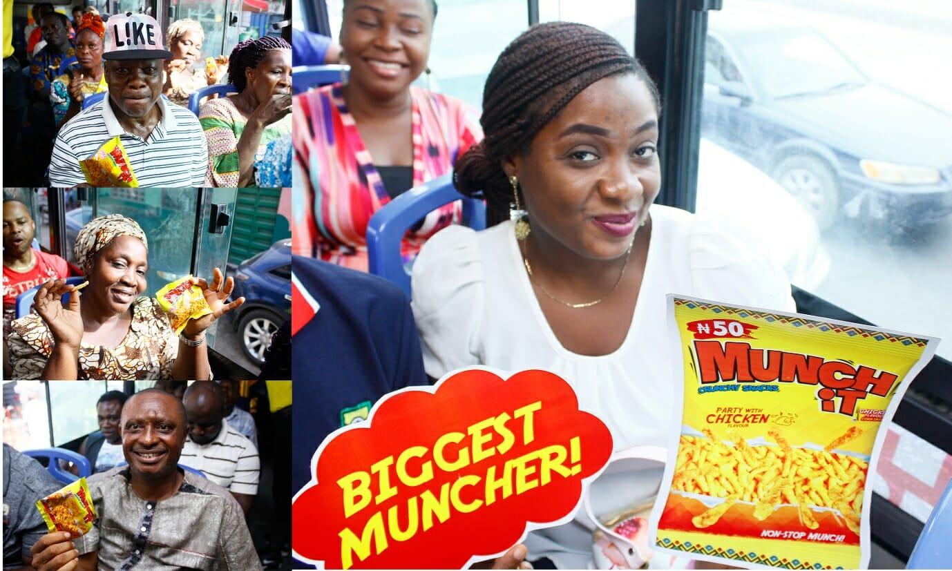 Munch It Offers Free Fun Bus Ride To Lagosians