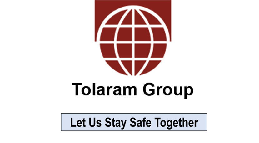 TOLARAM GROUP SUPPORTS NIGERIAN GOVERNMENT WITH N1 BN; TO STRENGTHEN THE FIGHT AGAINST COVID-19